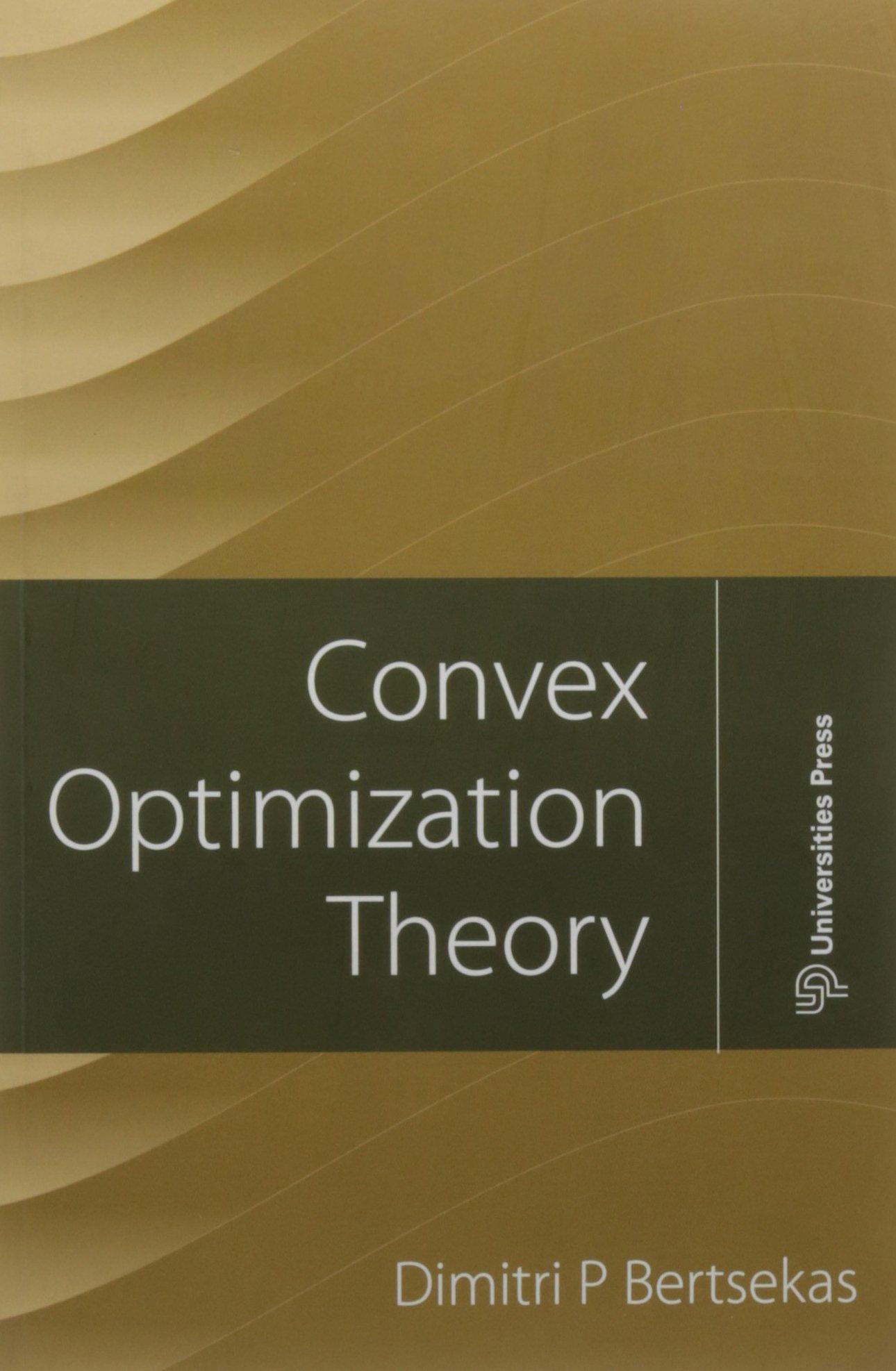 CONVEX OPTIMIZATION THEORY PDF DOWNLOAD