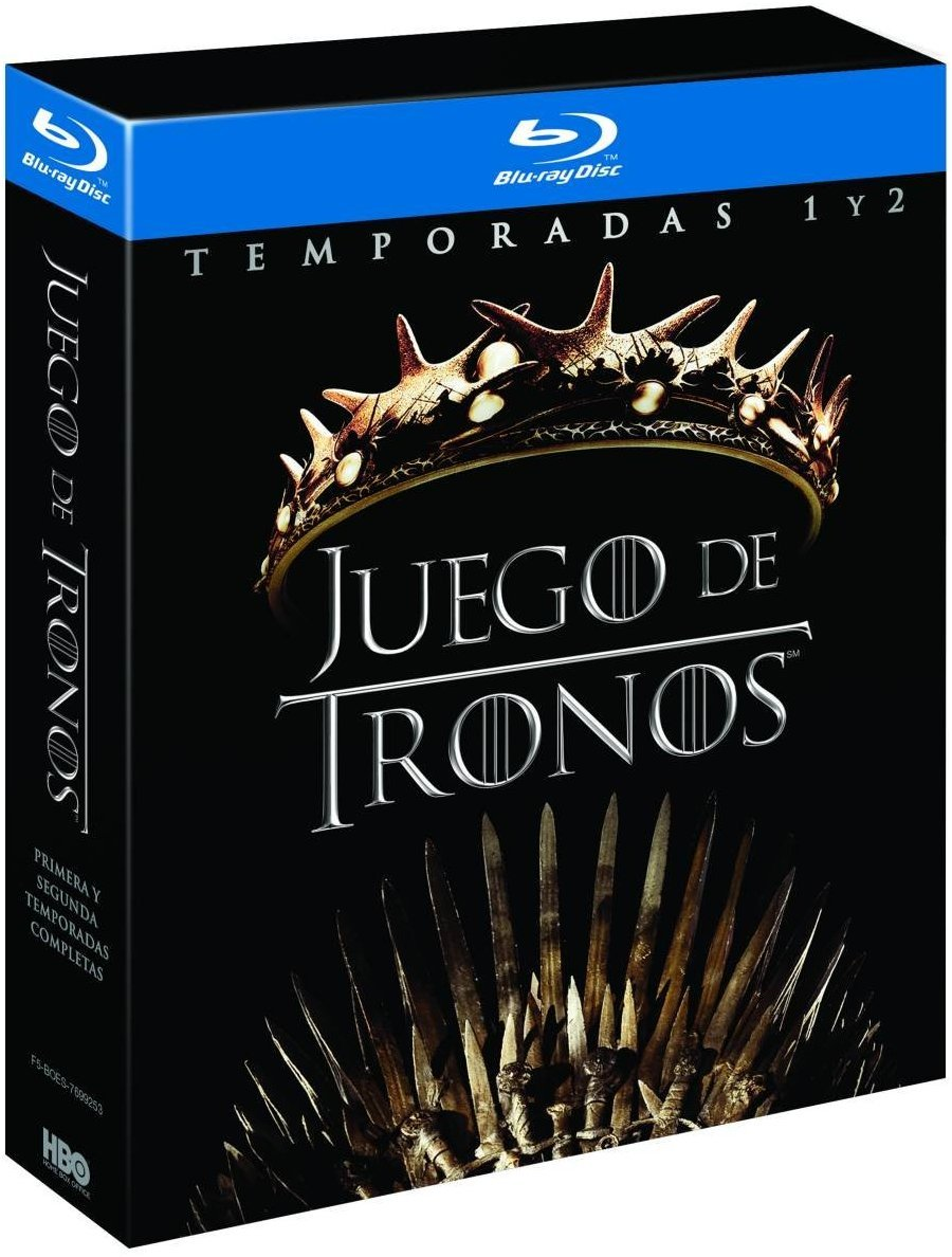 Pack Juego De Tronos Temporada 1-2 Blu Ray [Blu-ray]: Amazon.es ...