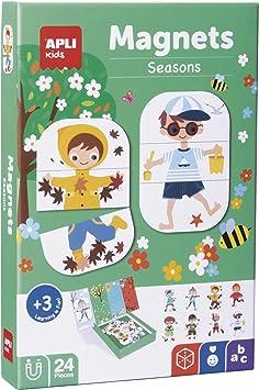 Oferta amazon: APLI Kids- Estaciones Juego Magnético, Multicolor (17160)