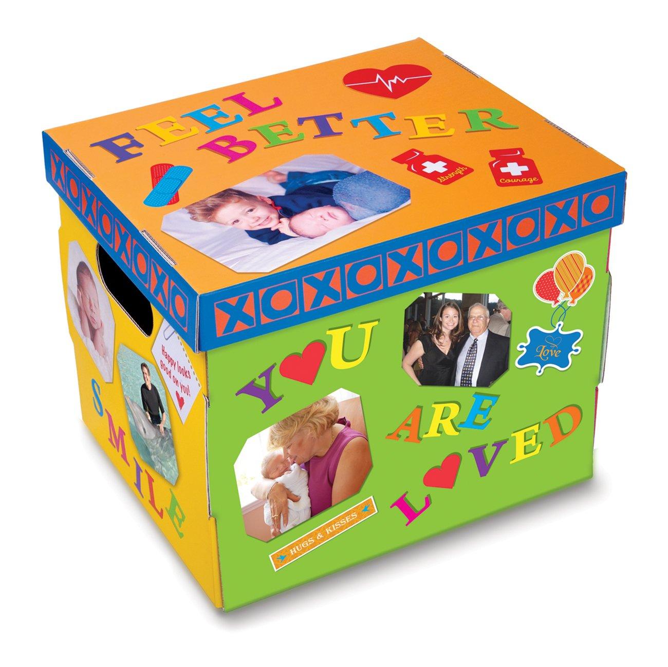 The HOSPITAL BOX - Kit caña de cuidado de la caña Kit de pescar. Mejor caja de regalo. Regalo personalizado HOSPITAL después de la cirugía. Obtén bien. 37d354