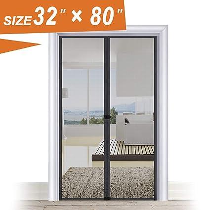 Gentil Magic Screen Door 32 X 80, Entry Front Door Fit Door Frame Size Up To 30W  ...