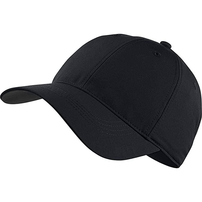7a9129c35 Nike Golf Tech Adjustable Blank Custom Hat Cap - Personalize With Your Own  Team Or Business Logo (Black)