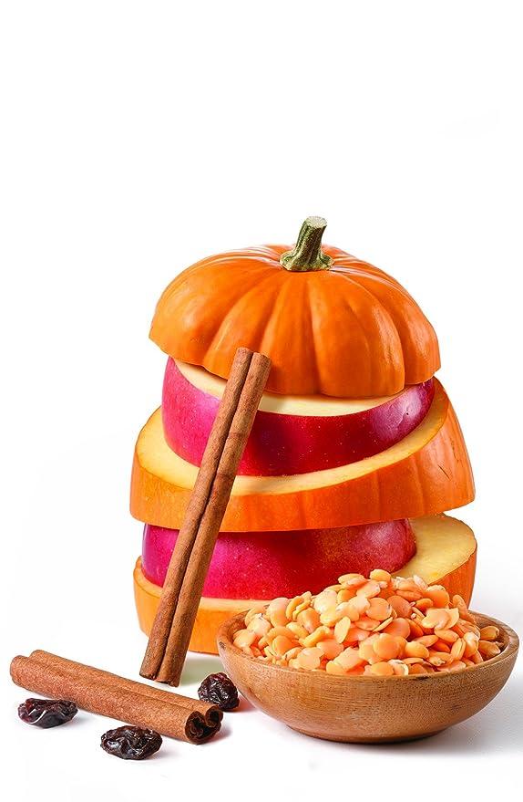 Alimentos para Bà © bà © s, à © Tape 3, calabaza, manzana ...