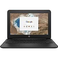 HP 1FX82UT#ABA Chromebook - 11 G5 EE 11.6 inches 1366 x 768 Intel Celeron N3060 Dual core (2 Core) 1.60 GHz 4 GB RAM 16…