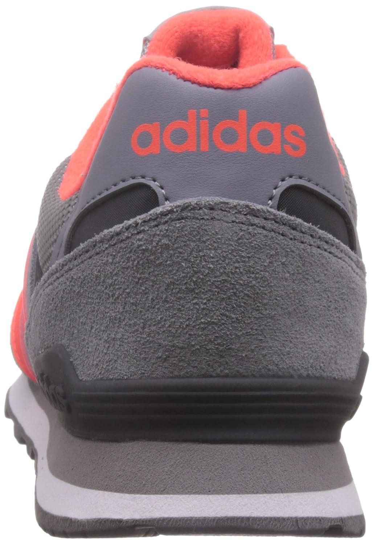 adidas 10K, Chaussures de Sport Homme, Bleu (Gris/Rouge Solaire/Gris Nuit), 40 EU