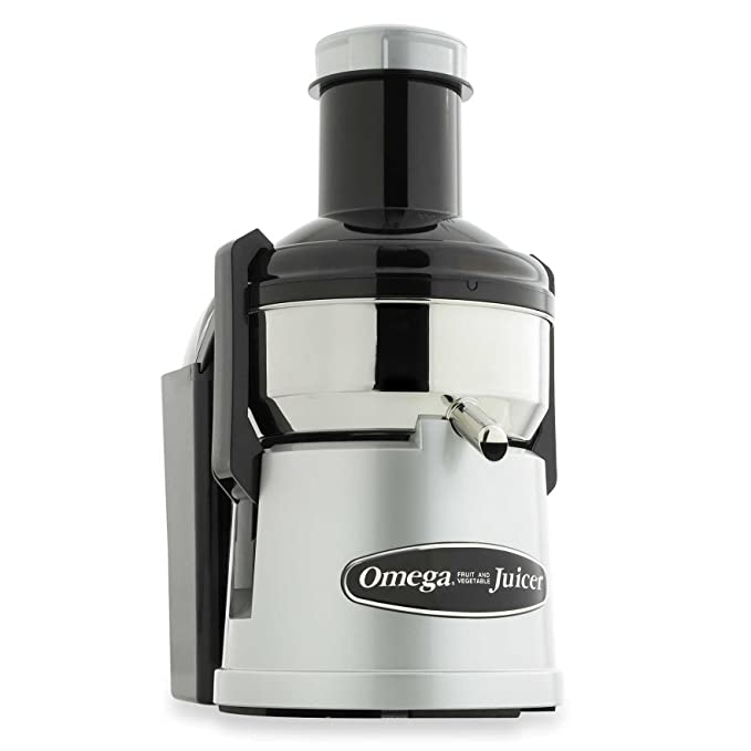 Omega Stainless Steel Pulp Ejection Juicer (Certified Refurbished)