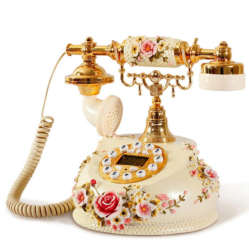 FADACAI Pastoral Telephone Home Phone Home Decoration Telephone 28 22 24cm