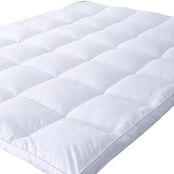 pillow top mattress pad full size Amazon.com: Naluka Mattress Topper Full Size, Down Alternative  pillow top mattress pad full size