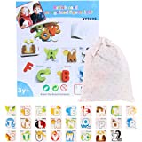 Gecter Alphabet Letters Matching Puzzle ABCs Flash Cards with Animals Early Learning Cards Early Education Toys Puzzles Gift for Kids Toddlers Boys Girls With All Senses Read Learn for all Children from 2 3 4 years