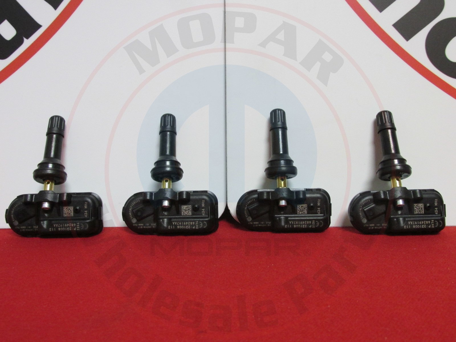 Set of Four (4) 2014-15 Ram Pickup Jeep Cherokee 434 MHz TPMS 68249197AA