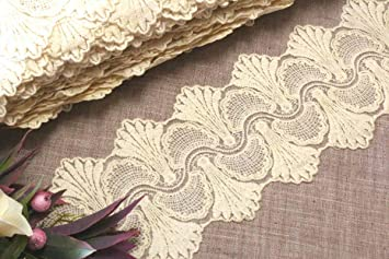 DIY 5 Yards Flower lace embroidery Trim clothing//curtain Home decoration sewing