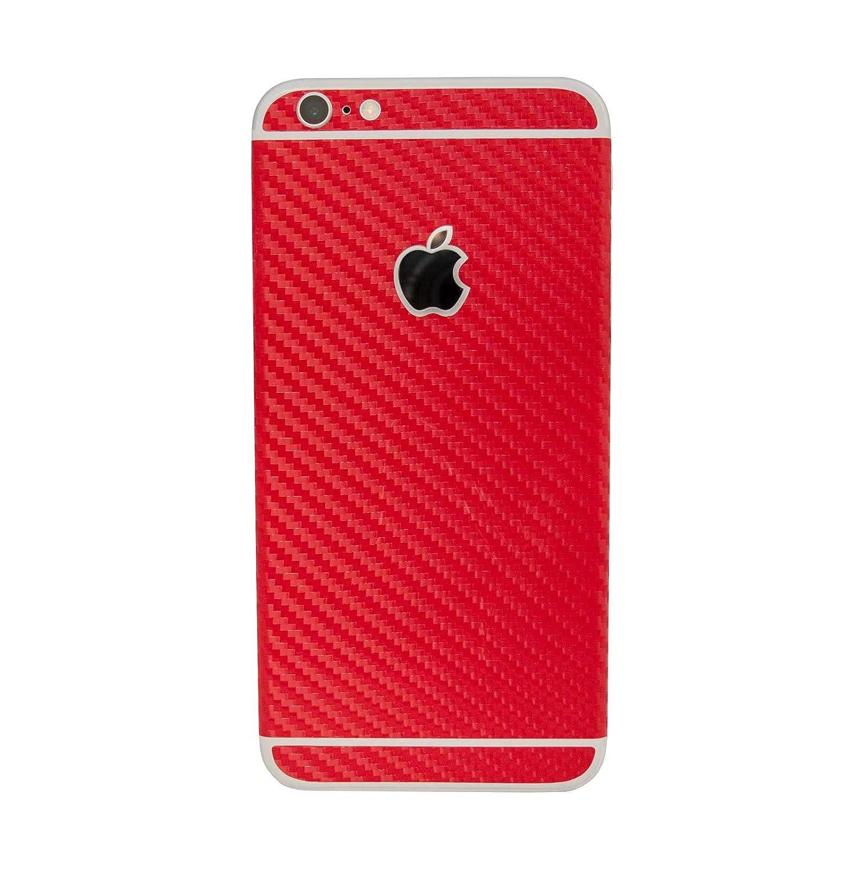 Red Carbon Fiber Textured Skin for Apple iPhone 6 / 6s Plus 5.5' Vinyl Sticker stika.co