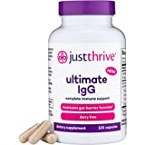Just Thrive: Ultimate IgG - Complete Gut Health and Immune Support - 30-Day Supply - Immunoglobulin Concentrate for Immunity