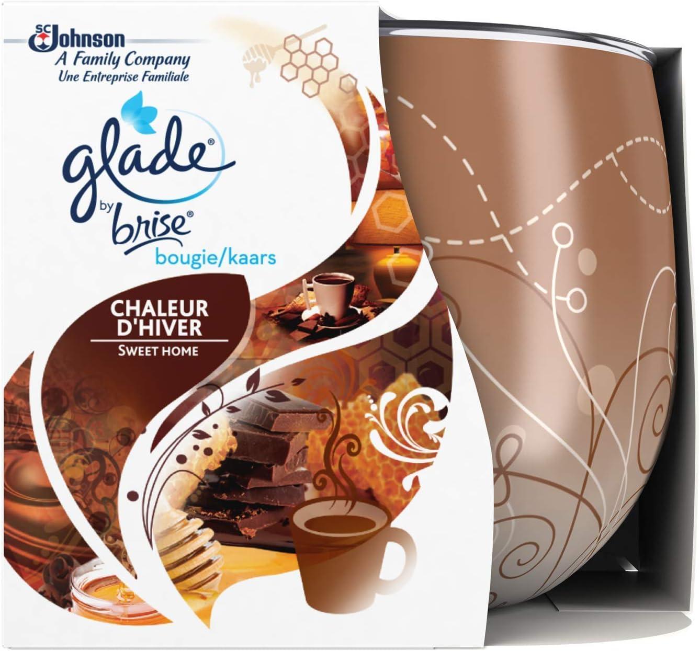 Glade Sweet Home Set di 6 Candele profumate, Fino a 30 Ore