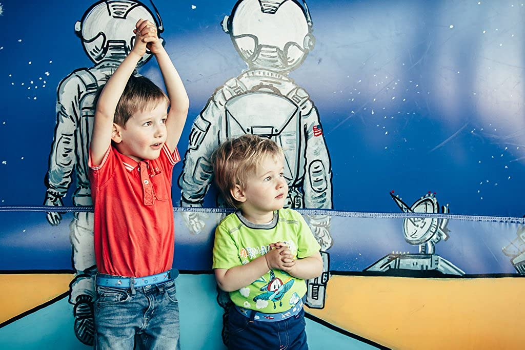 Ed/&Kids Kinderg/ürtel Ohne Schnalle Elastisch Gr/ö/ßenverstellbar Fu/ßball