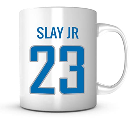 outlet store 3b620 ba5a4 Darius Slay Jr Mug - Detroit Football Jersey Number 11 oz ...