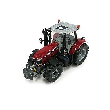 Britains - Tractor Massey Ferguson 6600, color rojo, negro y blanco ...