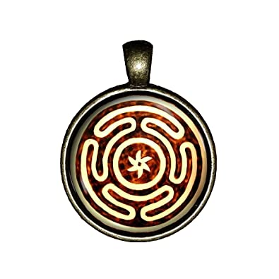 ecate necklace  : Hecate Wheel necklace handmade Goddess of Witches ...