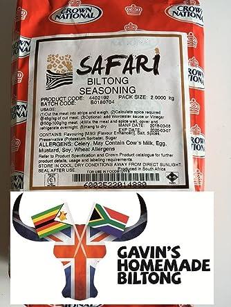 Safari Biltong Spice 200g