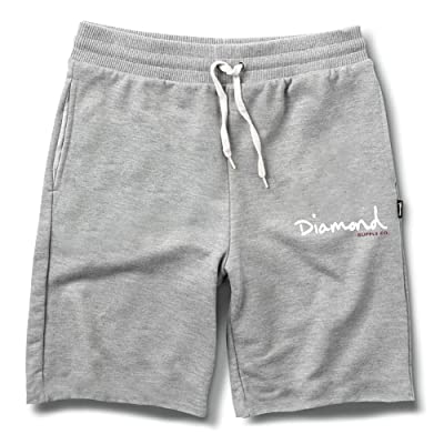 Diamond Supply Co Men's OG Script SweatShorts