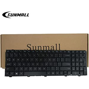 SUNMALL New Laptop Keyboard for HP ProBook 4540s 4540 4545s series Compatible with Part Number 702237