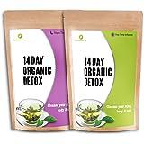 NUTRIENT WISE Orgánico Detox Té Verde De Hierbas Naturales De Pérdida De Peso Suplementos De Dieta (tè durante il giorno & tè di notte )