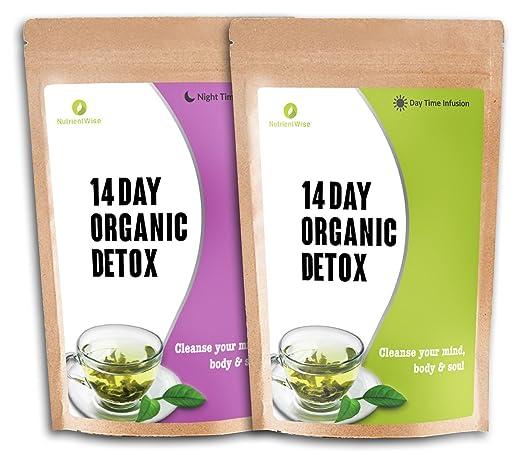 64 opinioni per NUTRIENT WISE Orgánico Detox Té Verde De Hierbas Naturales De Pérdida De Peso