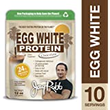 Jay Robb - Egg White Protein Powder, Outrageously Delicious, Chocolate, 10 Servings (12 oz)