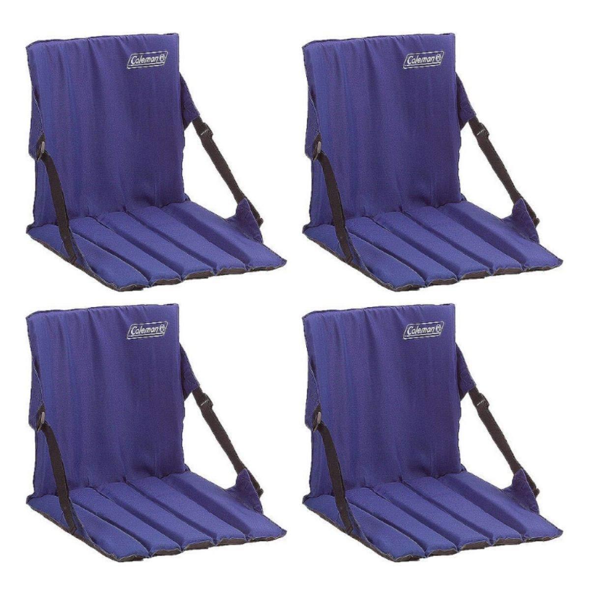 Coleman Stadium Seat (Blue/Set of 4) by Coleman