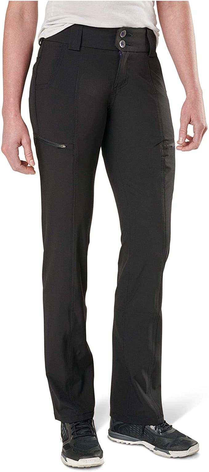 5.11 Tactical Womens Mesa Pants, Cargo Pockets, Contoured Waistband, DWR Finish, Style 64417