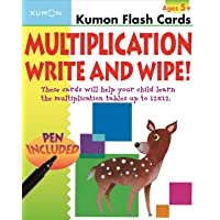 Multiplication Write & Wipe: Kumon Flash Cards