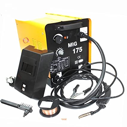 GASLESS MIG 130 AMP Welder NO Gas Flux CORE AUTO Wire Feed Portable