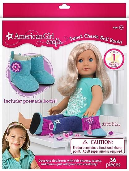 Amazon Com American Girl Crafts Sweet Charm Boots Diy Girls Crafts