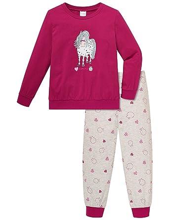 Schiesser Mädchen Zweiteiliger Schlafanzug Lang