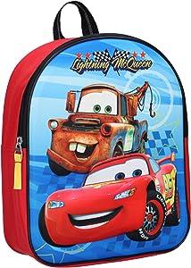 Disney Cars pixar 3D Backpack,School Bag,Official Licensed