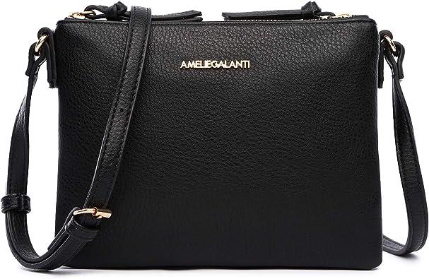 Ladies Tessal Designer Faux Leather Crossbody Bag Womens Shoulder Messenger Bags