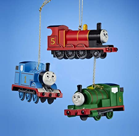Thomas and Friends Christmas Ornaments (3pc) Thomas - James - Percy:  Amazon.co.uk: Kitchen & Home - Thomas And Friends Christmas Ornaments (3pc) Thomas - James - Percy