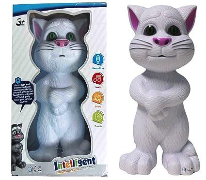 Buy Vivir Touching Talking Tom Cat Toys For Kids White Online At