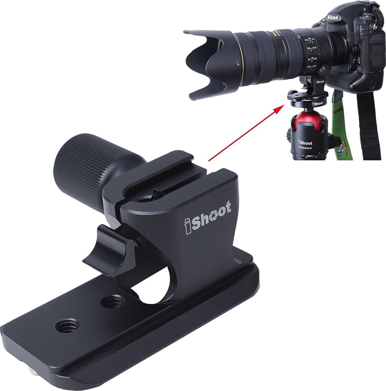 Ishoot Lens Support Collar Base Tripod Mount Ring Stand Elektronik