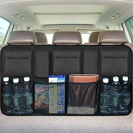 Amazon.com: Organizador para maletero de coche., Negro ...