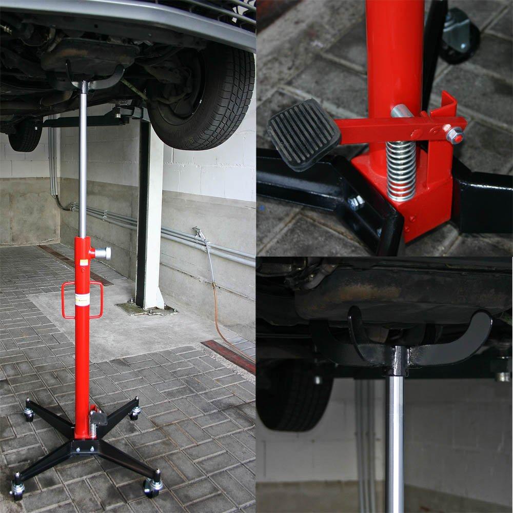 Gato de transmisión móvil Gato de motor Gato de motor Faulenzer Gato de motor con capacidad de carga de 500 kg: Amazon.es: Coche y moto