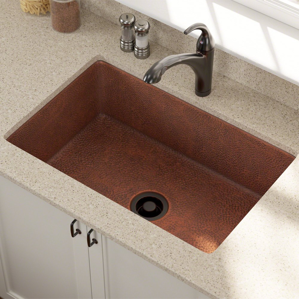 sink x undermount hammered finish cok price in regular kitchen copper hand drop inch coffee natural