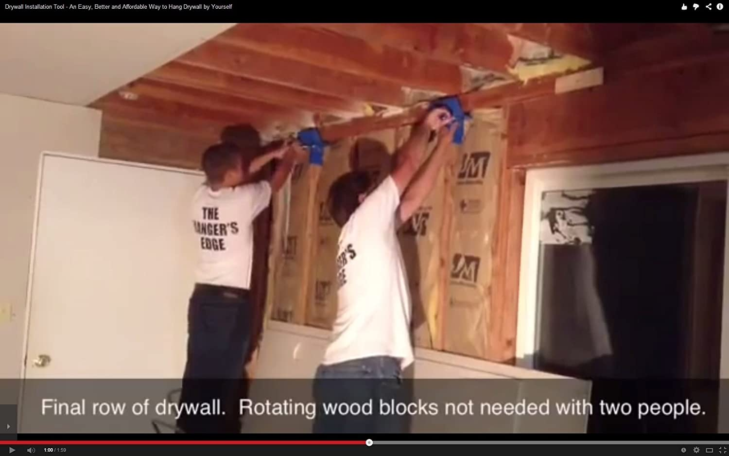 How to hang drywall on walls - How To Hang Drywall On Walls 5