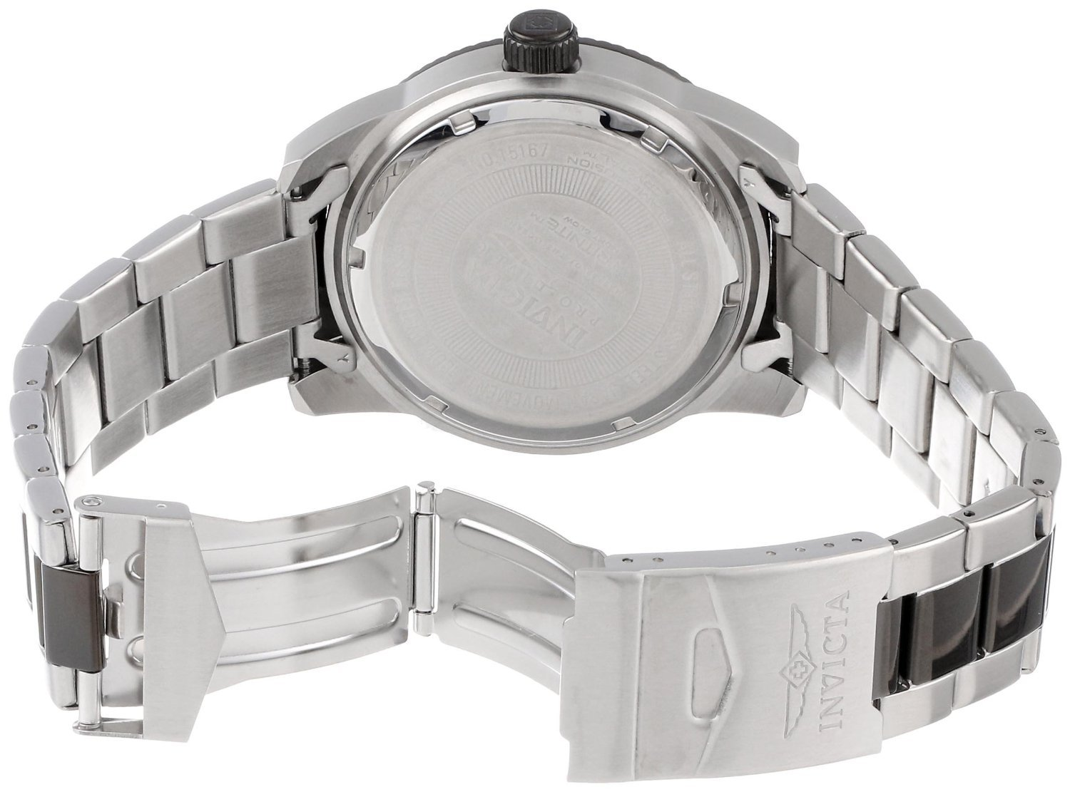 Amazon.com: RELOJ para HOMBRE INVICTA 15167 PRO DIVER SILVER DIAL TWO TONE STAINLESS STEEL: Health & Personal Care