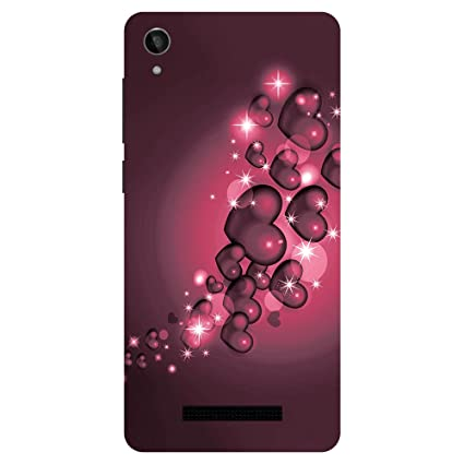 outlet store fe474 bc360 Lava Z50 Printed Back Cover by Gaurav Shoppee: Amazon.in: Electronics