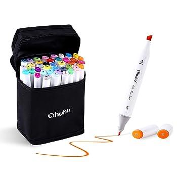 Ohuhu 40-color Dual Tips Marker