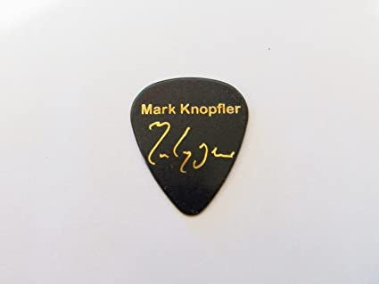 Púas de guitarra de Dire Straits con autógrafo impreso de Mark ...