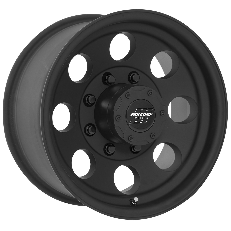 Pro Comp Alloys Series 69 Wheel with Flat Black Finish (16x8''/8x165.1mm)