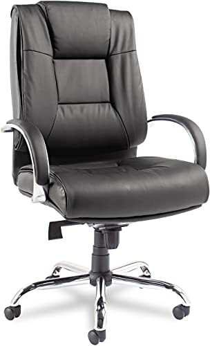 Alera RV44LS10C Ravino Big Tall Series High-Back Swivel/tilt Leather Chair