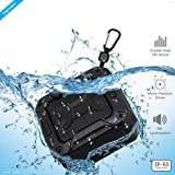 ZAAP ® AQUA BOOM waterproof/ Shockproof Bluetooth speaker With Built-In Microphone,(Black) UNIVERSAL COMPATIBILITY